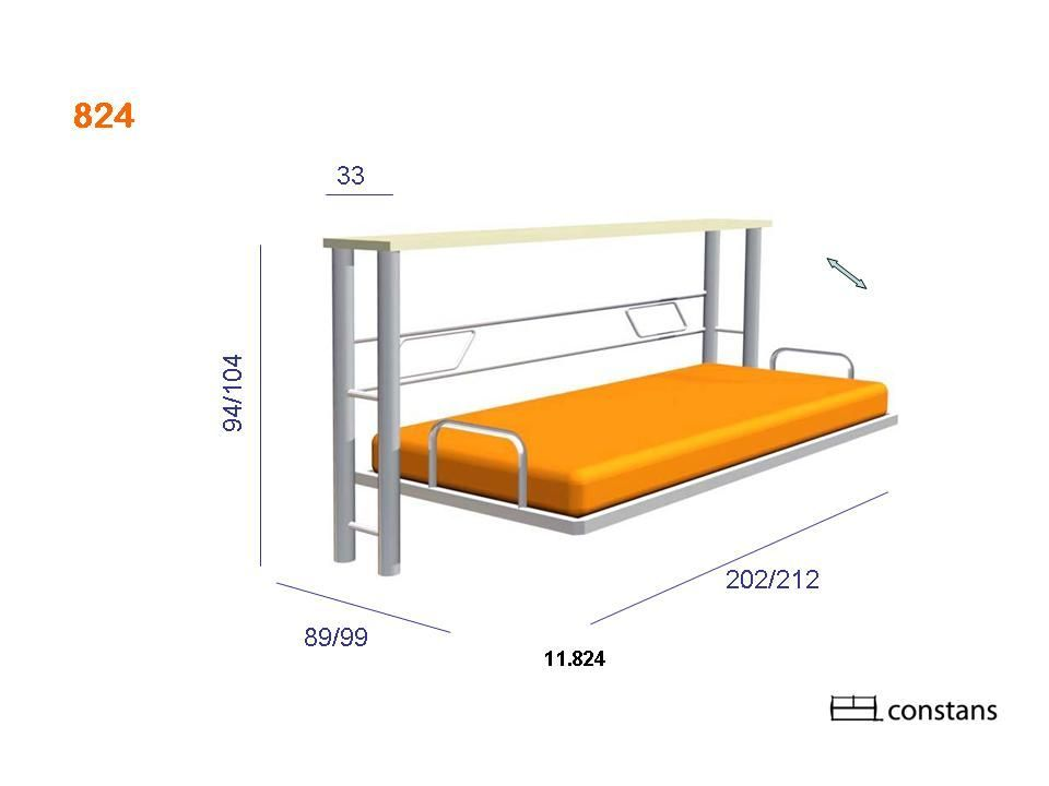 Camas abatibles constans carpinteria moveis de ferro - Mecanismo para camas abatibles ...