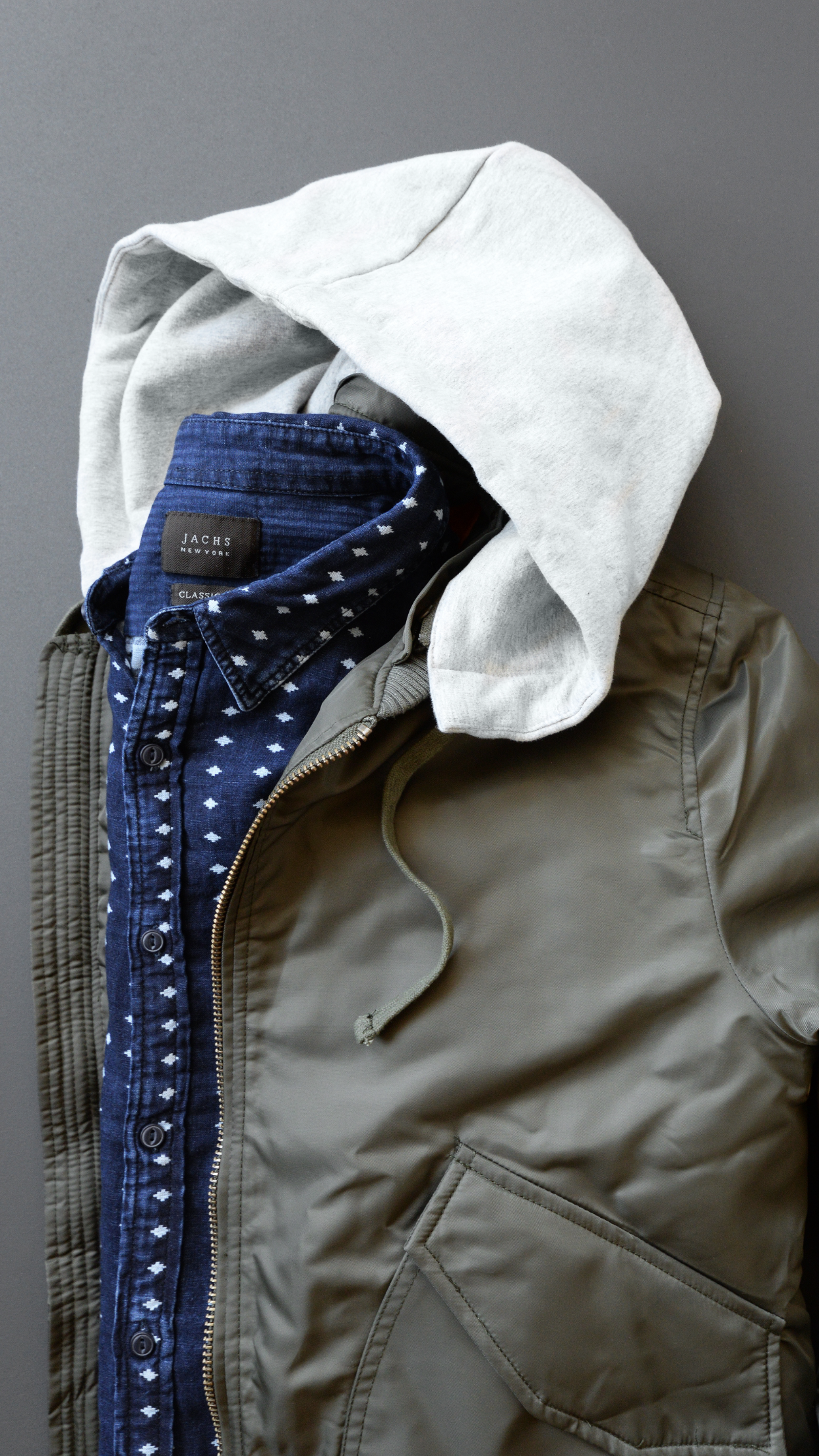 Hoodie Bomber Jacket And Pattern Shirt From Jachsny Bomberjacket Jacket Patternshirt Menswear [ 2208 x 1242 Pixel ]