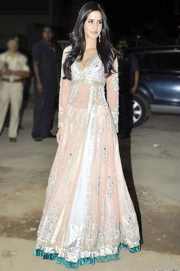 b7358cb85a0f Katrina Kaif Bollywood Replica Lehenga Choli