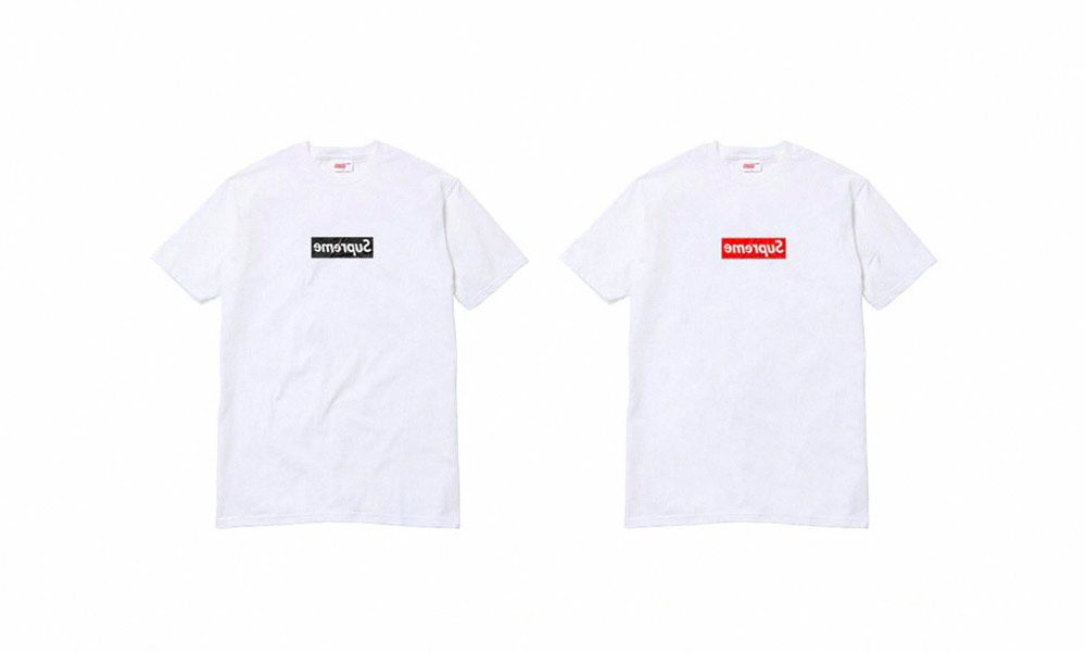 Supreme X Comme Des Garcons Shirt Collaboration Leak