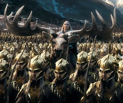 #LeePace as #Thranduil in The Hobbit: The Battle of the