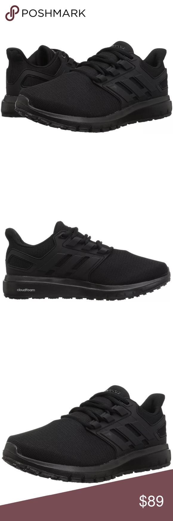 Adidas Energy Cloud 2 12 Wide Black Black Run Nwt Adidas Adidas Men Black Adidas