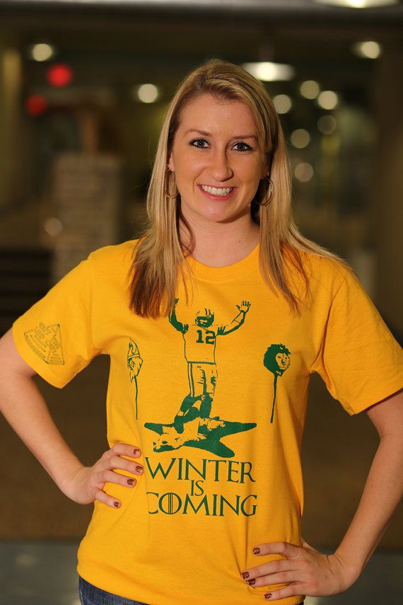 Brand new - Game of Thrones- Football-Packers- Aaron Rodgers T- shirt on  Etsy b60c3d42b
