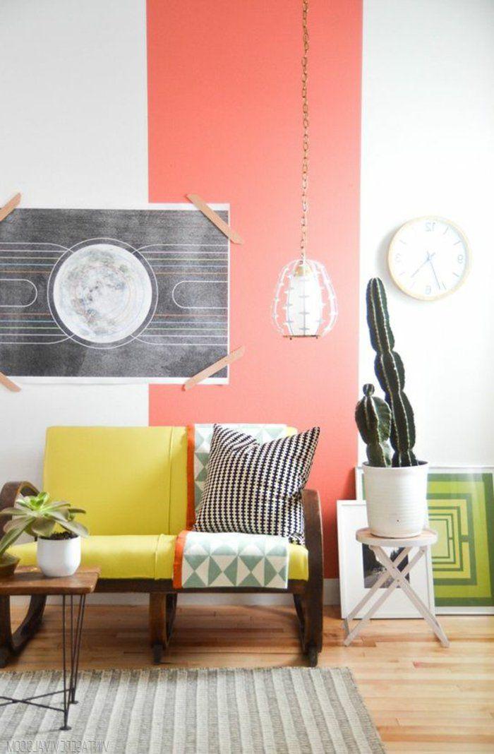 ▷ 1001+ idées pour votre peinture murale originale Sofa furniture