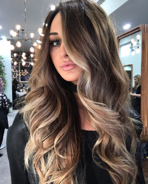21 best balayage hair color ideas for 2018 lazy hair pinterest cheveux couleur cheveux. Black Bedroom Furniture Sets. Home Design Ideas