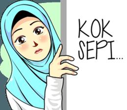 Best Funny Emoji  Hijab Raihana – LINE stickers | LINE STORE 11