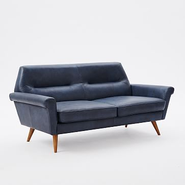 Incredible Denmark Leather Sofa Mocha At West Elm Loveseats Unemploymentrelief Wooden Chair Designs For Living Room Unemploymentrelieforg