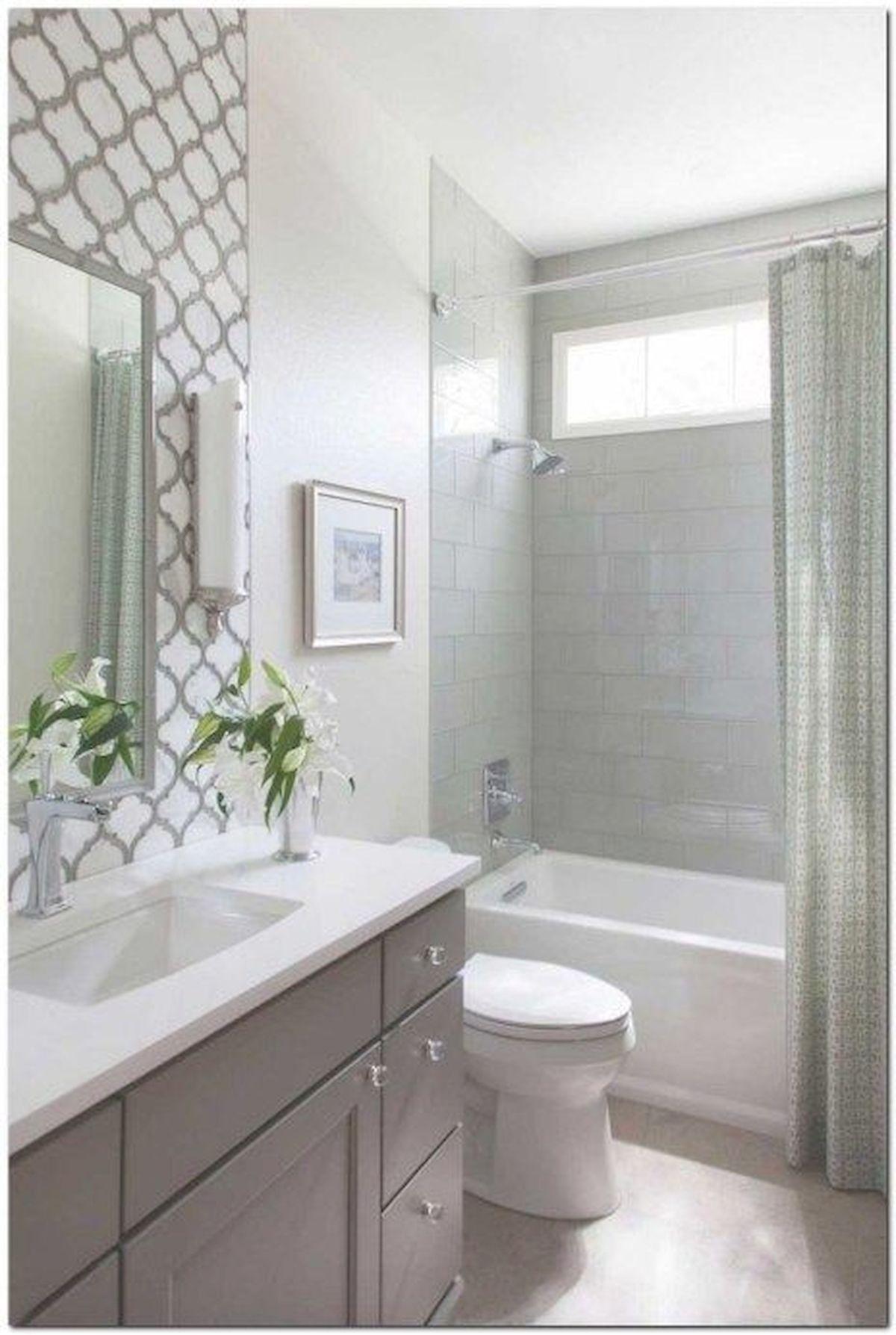 6 Elegant Bathroom Ideas For Compact Spaces: 60 Elegant Small Master Bathroom Remodel Ideas