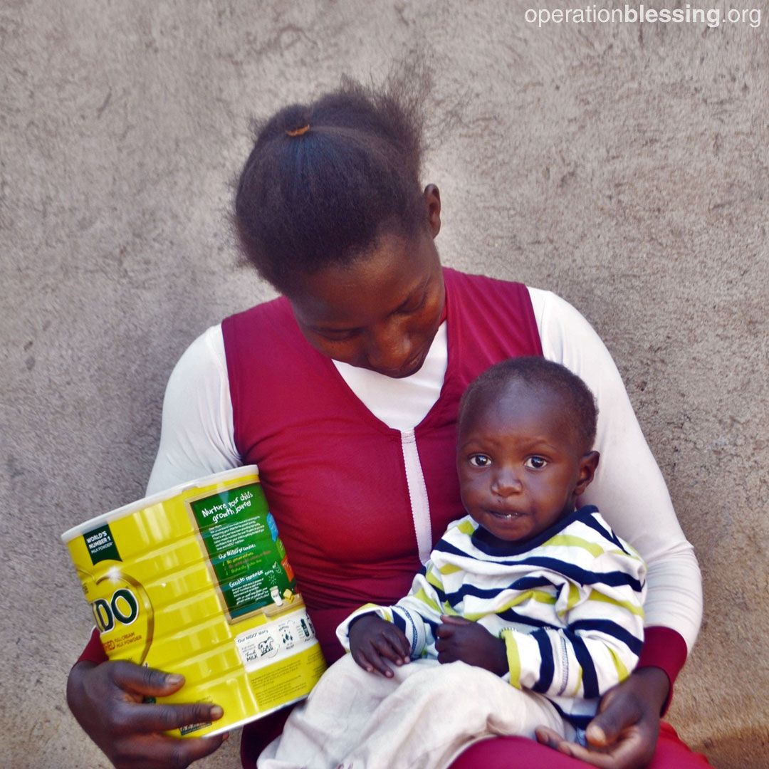 Because of you, Hope's vulnerable family in Uganda is