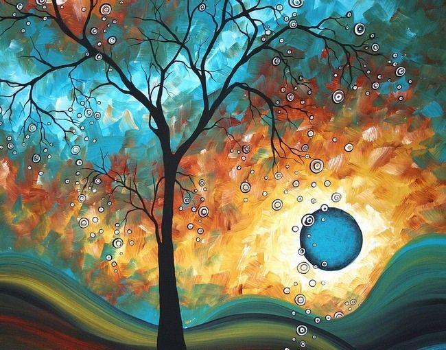 Gorgeous tree art