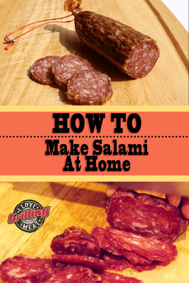 How To Make Salami At Home (Soppressata Recipe)
