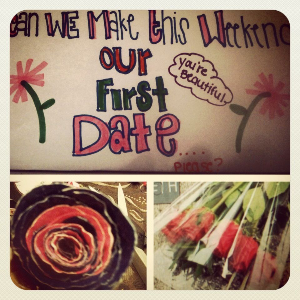 Cute Way To Ask Out A Girl<3