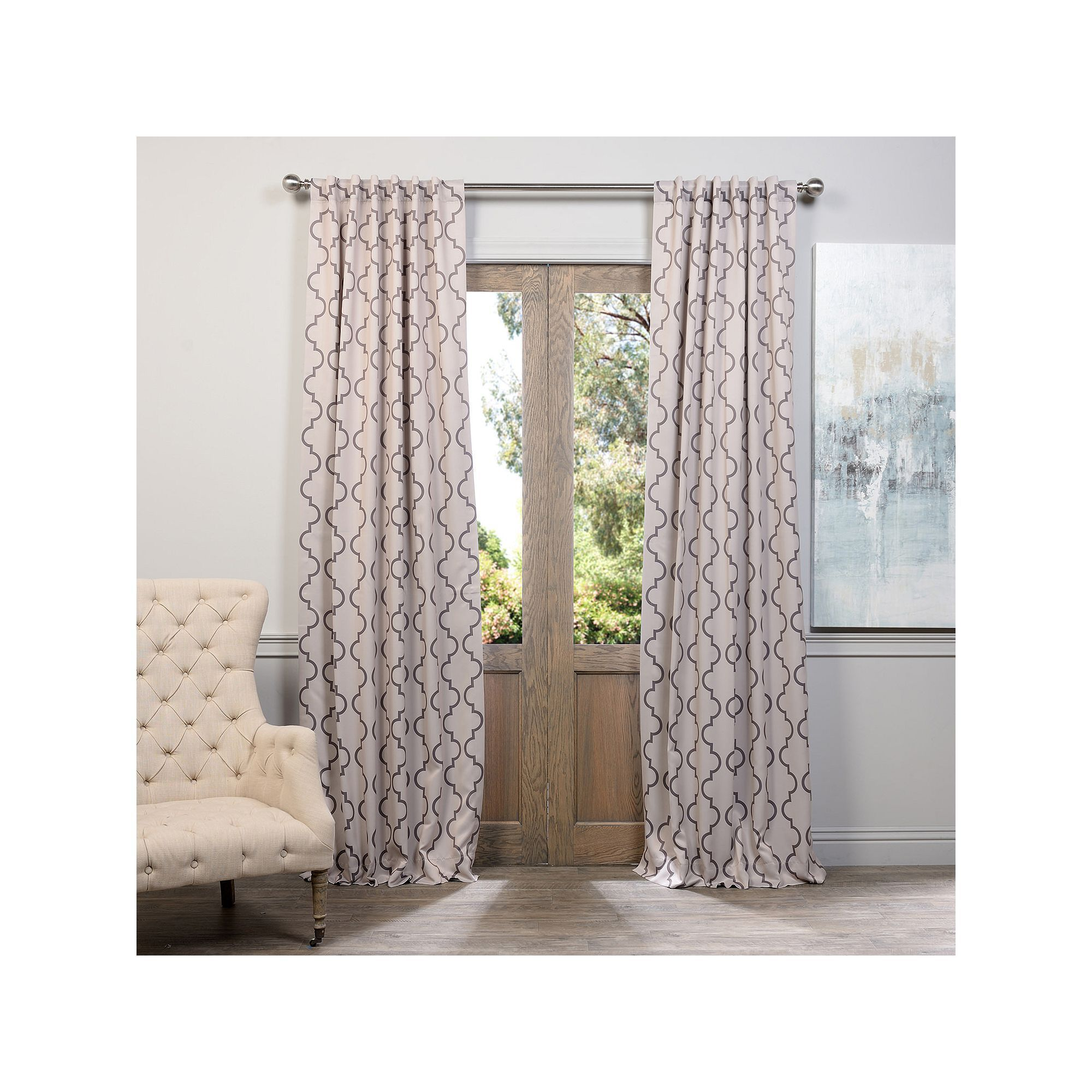 Printed curtains living room curtains fabric projectsdouble