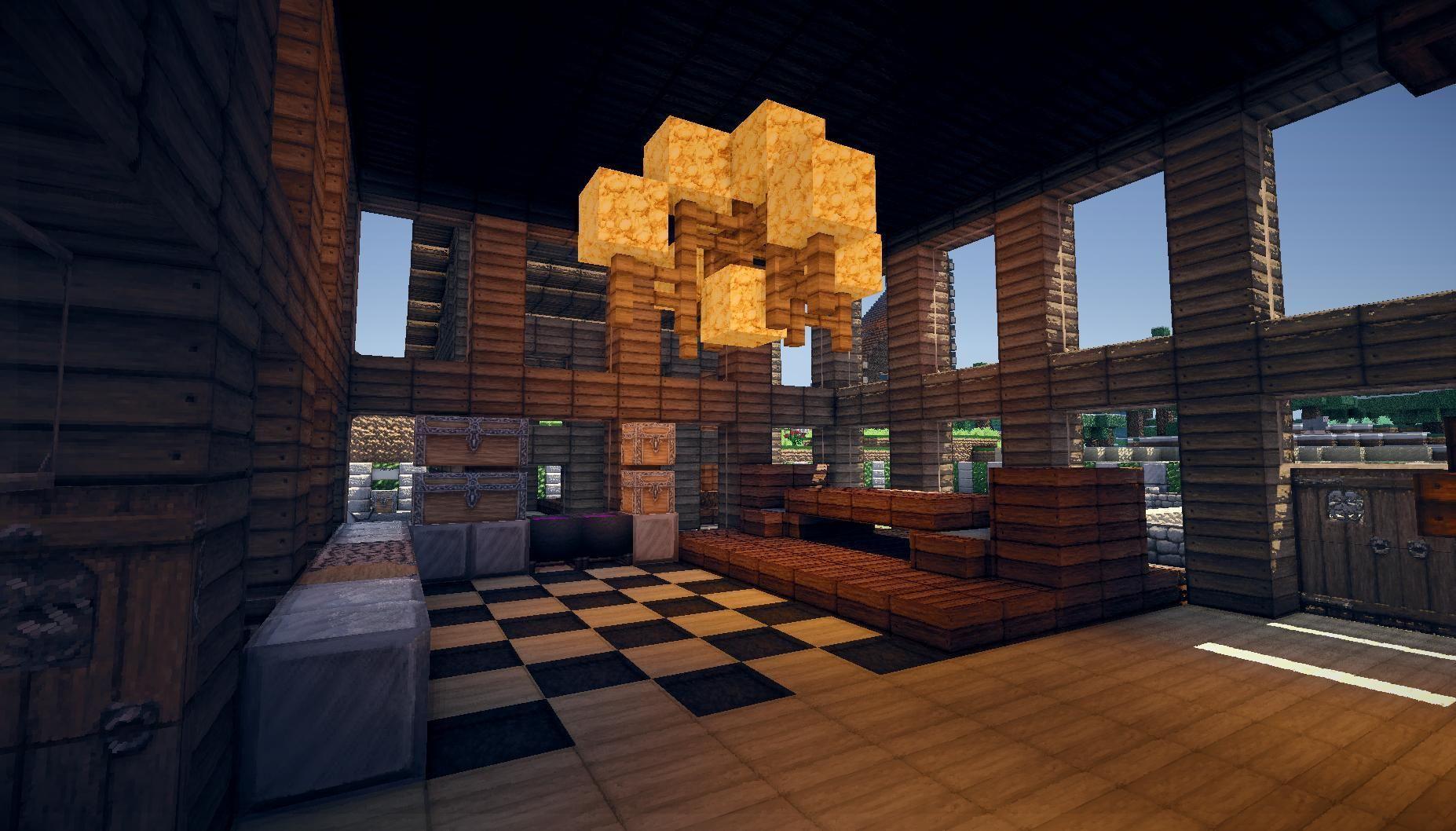 Minecraft Interior Google Search Minecraft Wooden House Minecraft Houses Minecraft Houses Survival