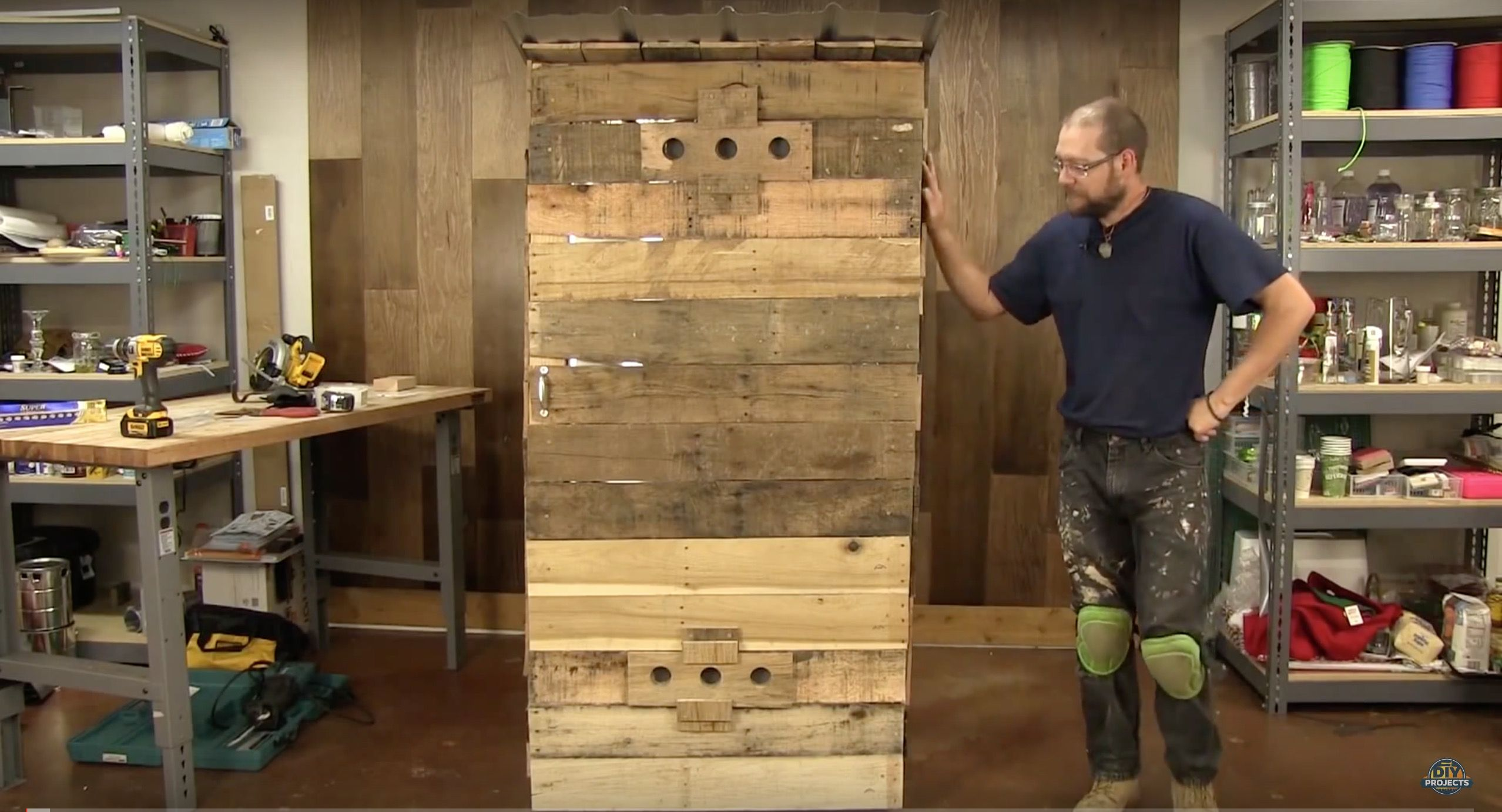 How To Build A Full Size Smokehouse for Under $100 | Diy ...