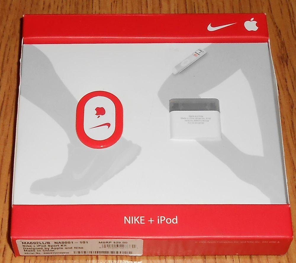 Nike + iPod Sport Kit Wireless Running Shoe Sensor MA692LLB