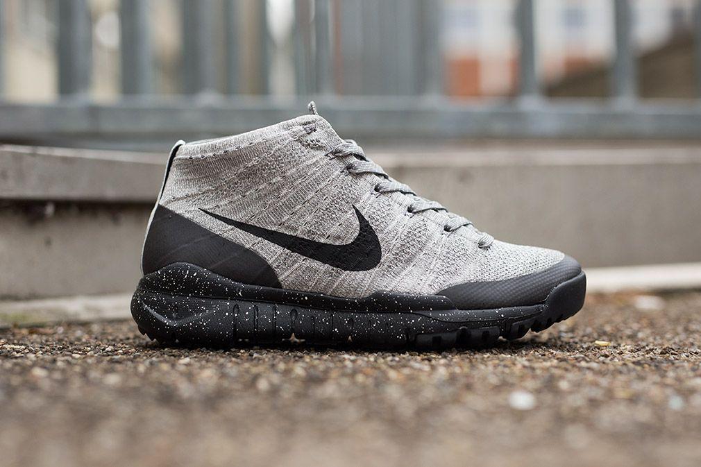 Nike Flyknit Entrenador Zapatos Chukker Fsb - Traje De Encender El Carbón