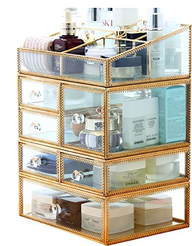 This Fashionable Cosmetics Organizer Will Help You Reduce