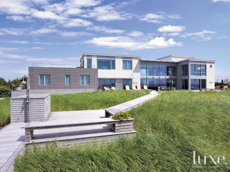 A Modern Long Island South Shore Beach Home