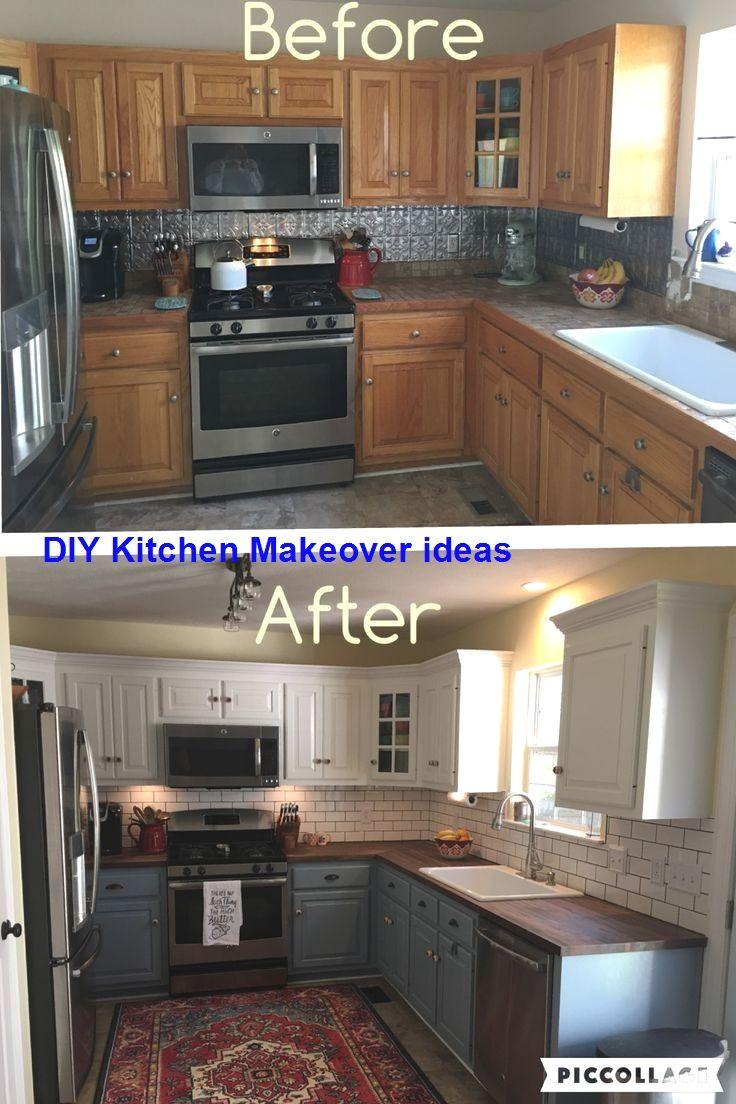 11 DIY Ideas for Kitchen Makeover