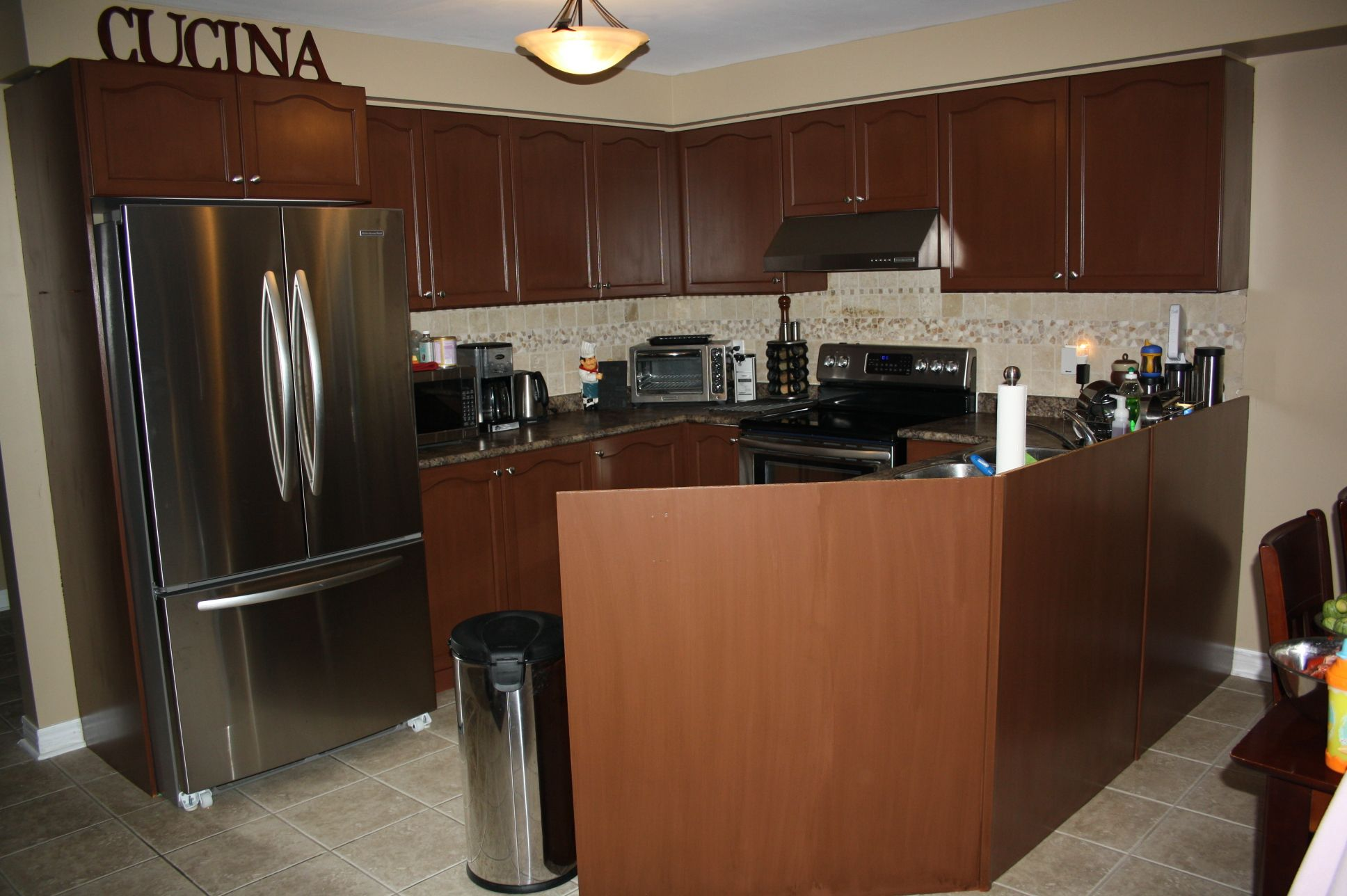 Testimonial Gallery: Rust Oleum Cabinet Transformations®   A Revolutionary  Kitchen Transformation System (Cocoa Glaze)