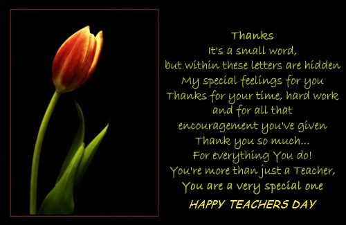 Happy Teachers Day To All The Respected Teachers Happy