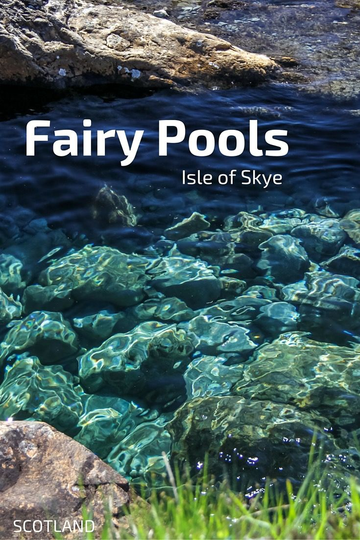 The Fairy pools on the isle of Skye are not full of fairies but of ...