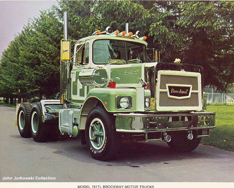 Brockway Grew Up Seeing These Trucks Everywhere In The 70s And