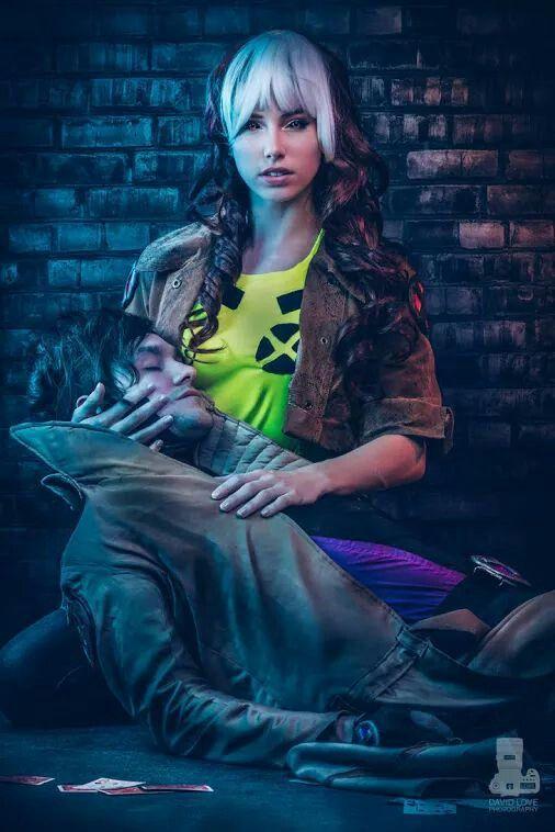 Cosplayers David y Megan ~ Cosplay de Gambit y Rogue