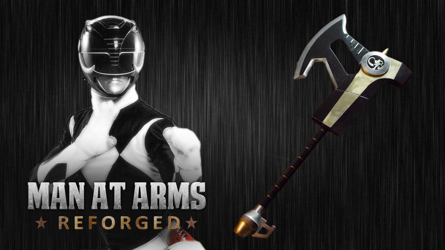 Power Rangers Power Axe - MAN AT ARMS:REFORGED | funny