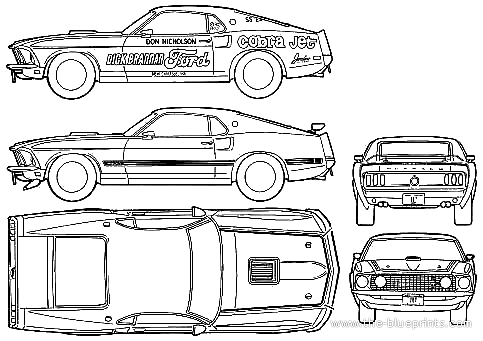 ford mustang super cj 1969png 483341