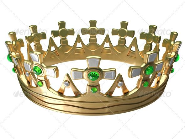 Royal Gold Crown  #GraphicRiver         Royal gold crown isolated on a white background 3d     Created: 11October12 GraphicsFilesIncluded: PhotoshopPSD #JPGImage HighResolution: No Layered: Yes MinimumAdobeCSVersion: CS PixelDimensions: 7333x5500 Tags: 3d #Monarchy #ancient #antiques #authority #cross #crown #embroidery #emerald #fantasy #gold #governor #illustration #imperial #isolated #jewel #jeweller #jewelry #king #medieval #monarch #pattern #pearls #queen #regalia #shining #symbol…