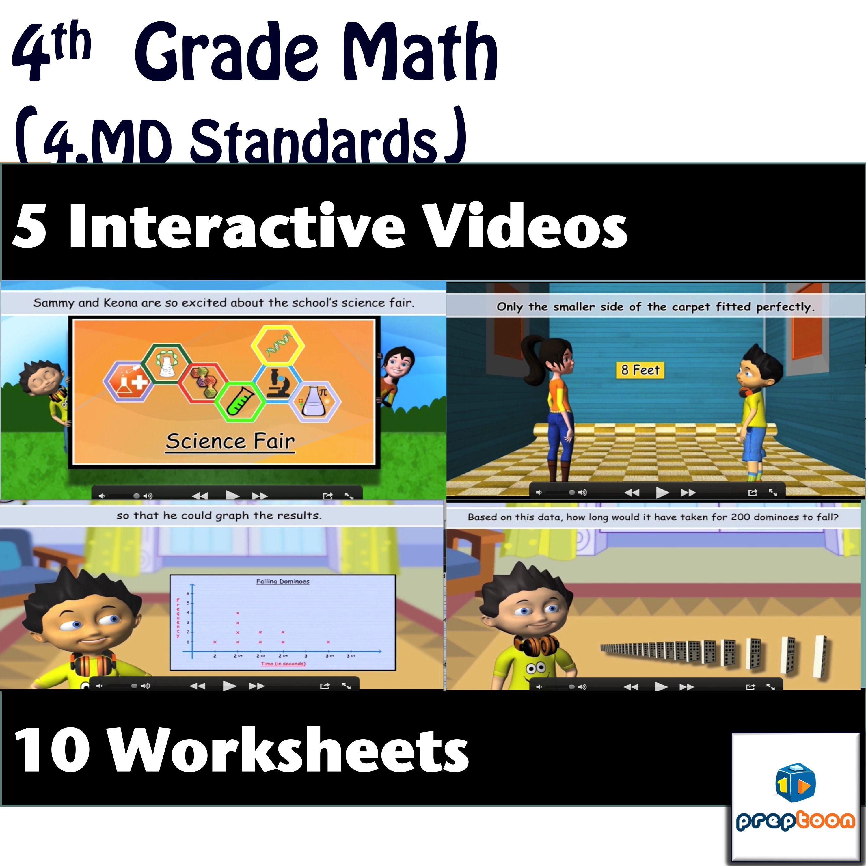 Common Core Math Measurement And Data