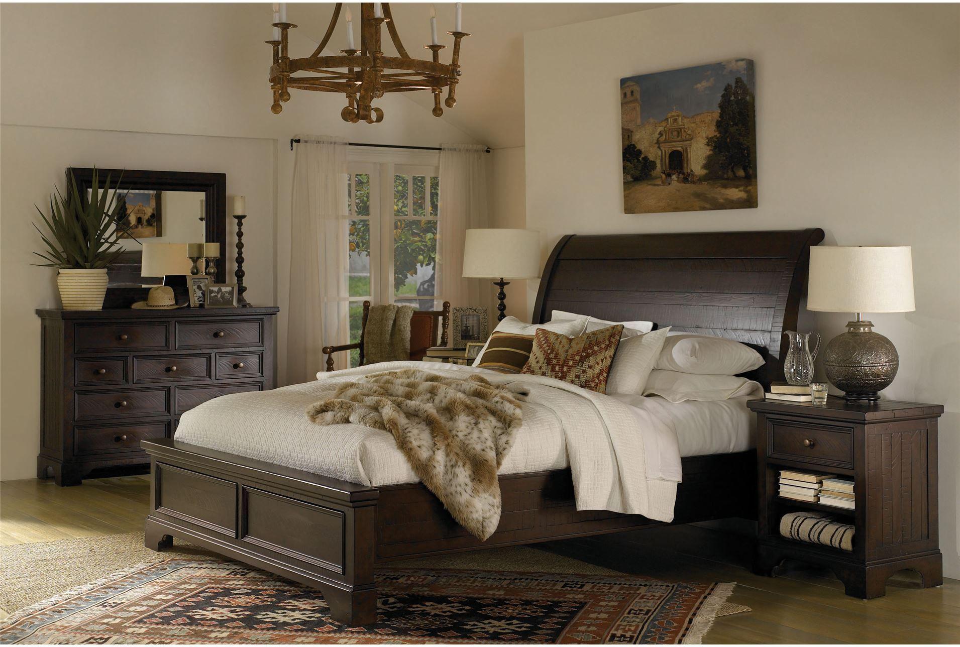 Loxton California King Sleigh Bed | California king, Bedrooms and ...