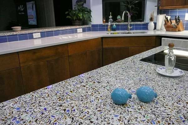 Are Recycled Glass Countertops A Good Granite Alternative?