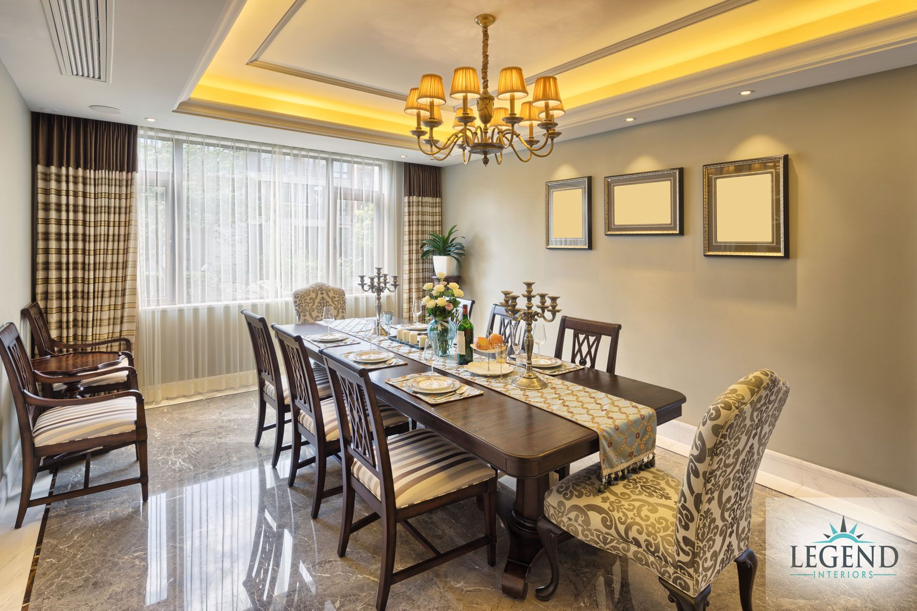 Dining Room Designs Decorate Your Legend Interiors Hyderabad