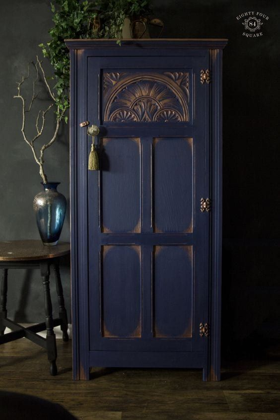 25 BEAUTIFUL BLUE Painted Furniture Ideas