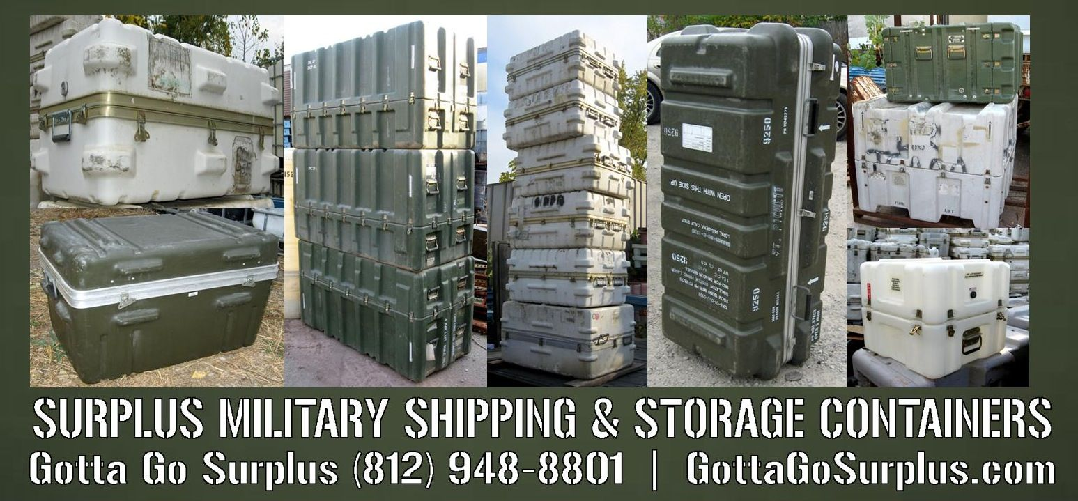 Military Shipping Containers Boxes For Sale Louisville Ky