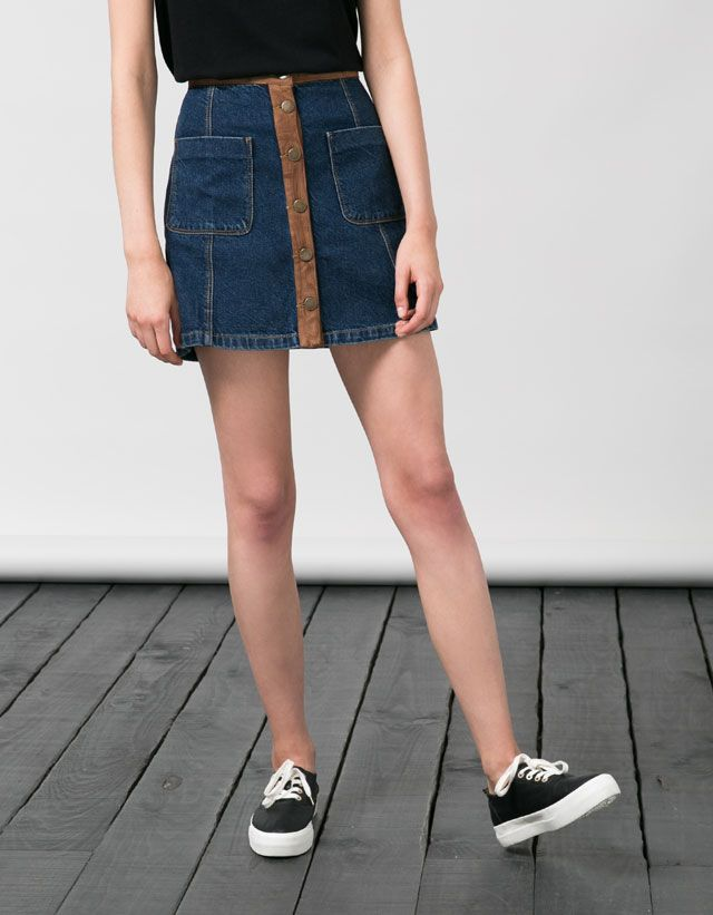 Skirts - GIRL - Woman - Bershka United Kingdom