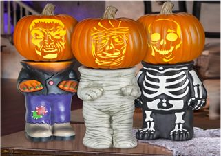 Get These Pumpkin Stands To Make Your Jack O Lantern Stand Out Above