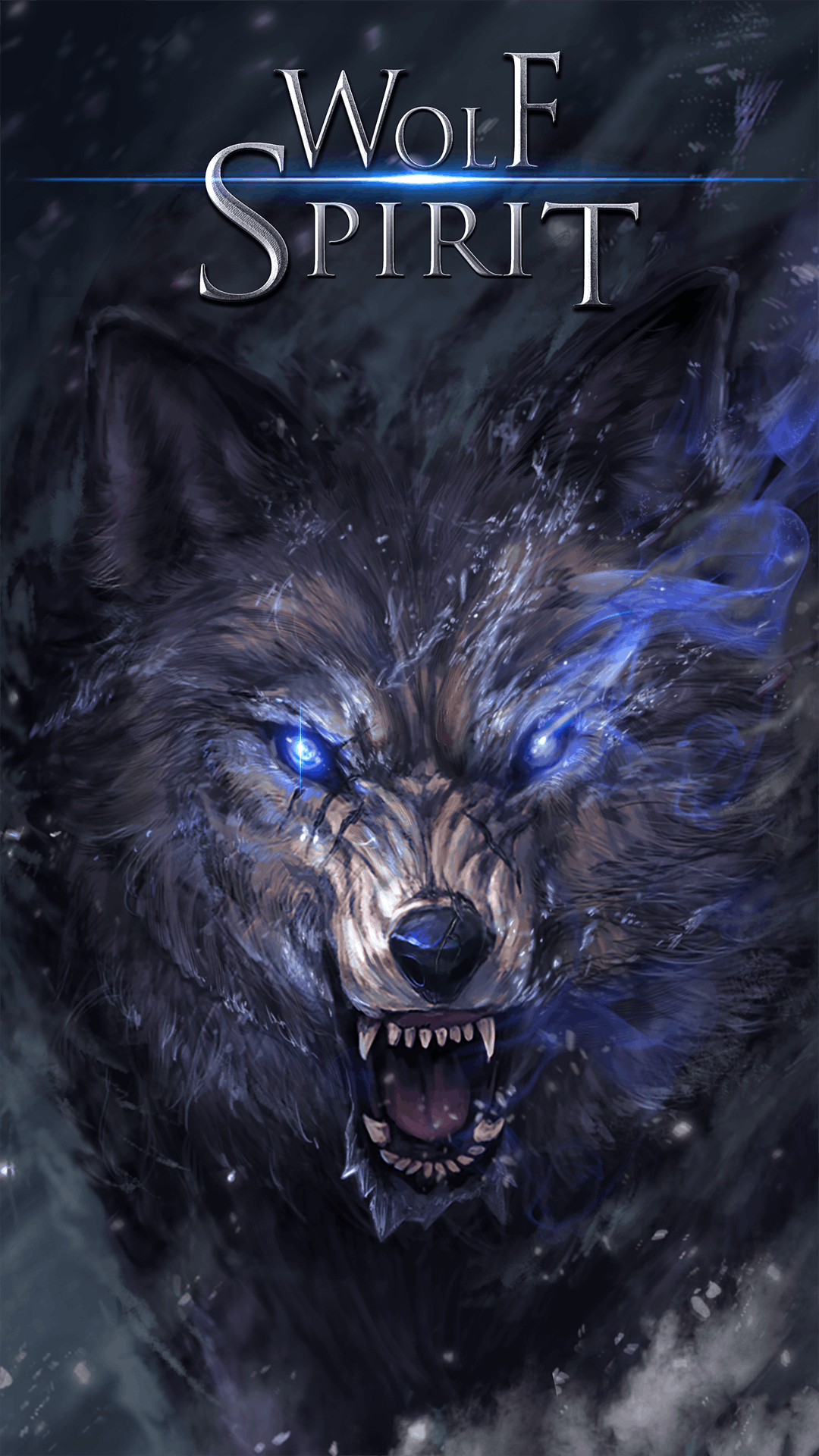 3d Wallpaper Cm Launcher Wolf Spirit Live Wallpaper Android Live Wallpapers From
