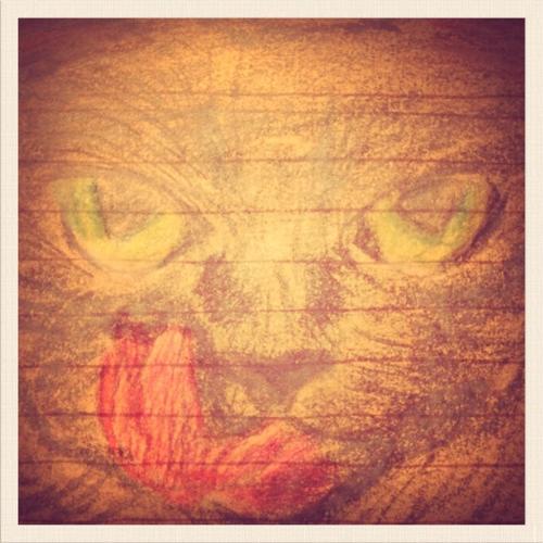 Dibuje Un Gato Painting Art