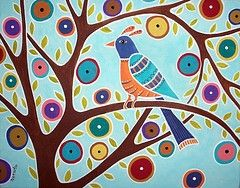 Image detail for -Mexican Folk Art Flowers Huichol And Native American Craft