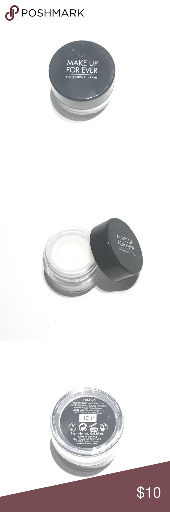 MakeUp ForEver Loose Powder Brand New || Make Up For Ever Ultra HD Microfinishing Loose