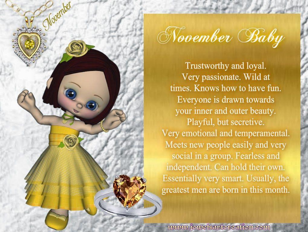November Baby November baby, Birth month, Zodiac