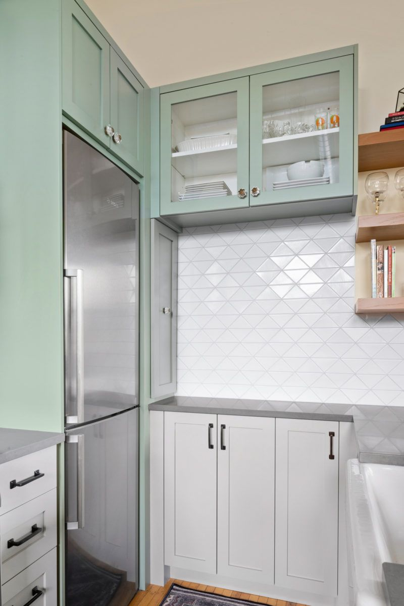 The Balanced Backsplash Fireclay Tile Fireclay Tile Kitchen