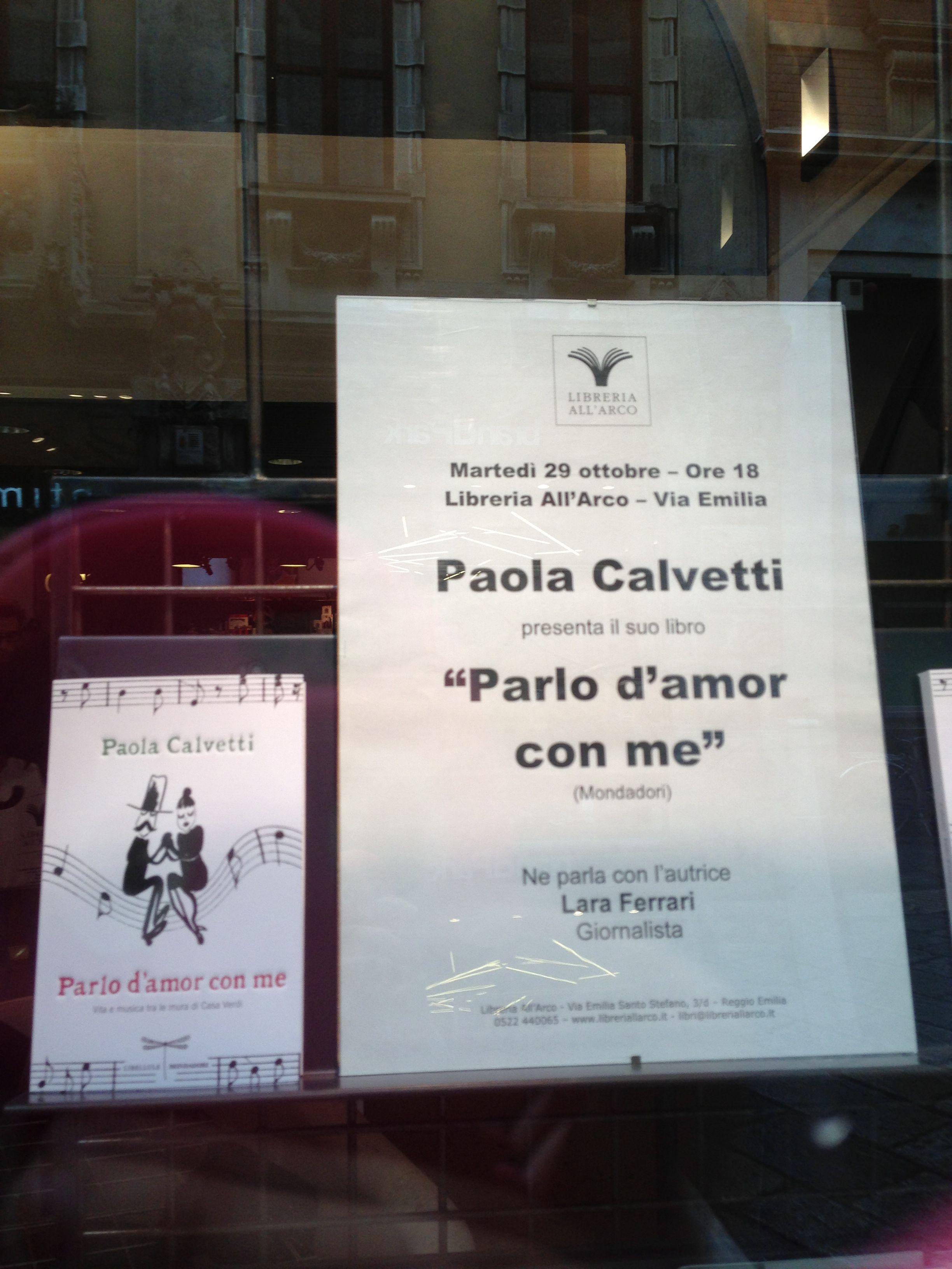 Incontro con Paola Calvetti