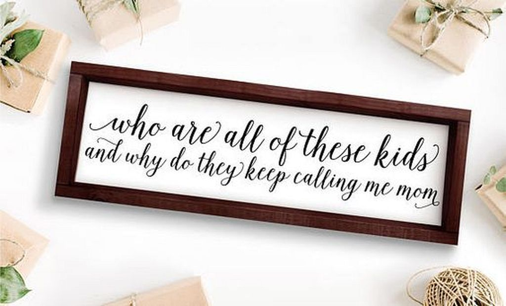 20+ Stunning Rustic Wooden Calligraphy Ideas As Ornament At Home