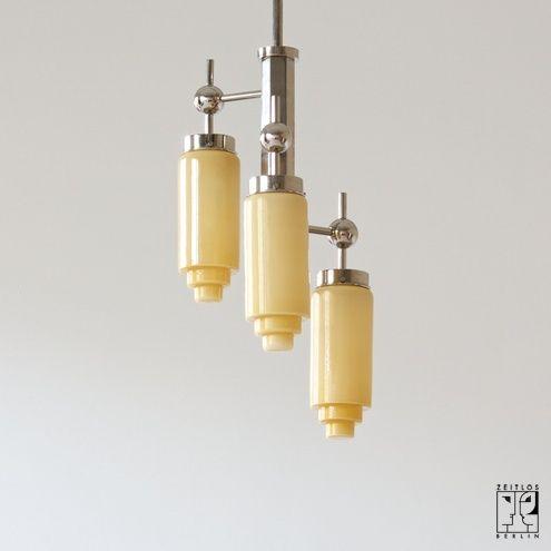 Art Deco ceiling lamp 1400 € Art deco Pinterest