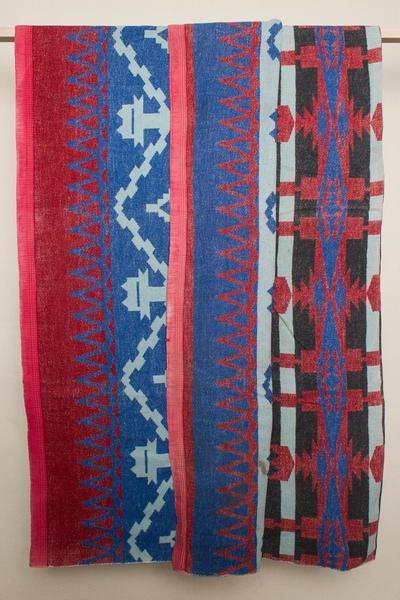 Red & Blue Camp Blanket